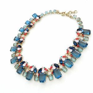 🔥J.CREW Glass bead Blue Women's Necklace🔥